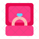 Ring Propose Romance Icon