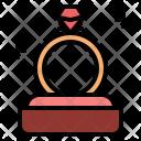 Propose Valentine Ring Icon
