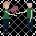 Celebrate Flowers Romantic Icon