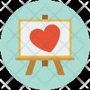Propose Art Heart Icon
