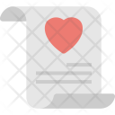 Proposal Letter Love Icon