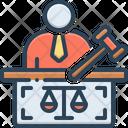 Prosecutor Hammer Jury Icon