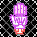 Prosthesis Plastic Color Icon