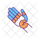 Replacement Hand Cracked Icon