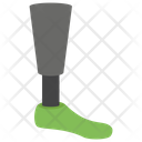 Prosthetic Leg Artificial Limb Pegleg Icon