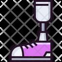 Prosthetic leg Icon