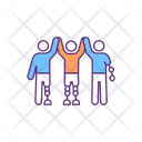 Disability Amputee Support Icon