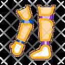 Prosthetics Arms Leg Icon