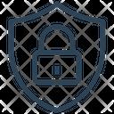 Lockdown Protect Shield Icon