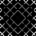Protect Shield Delete Icon