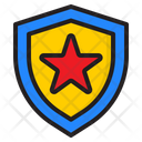 Protect Medal Award Icon