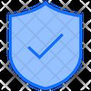 Protect Shield Checked Icon