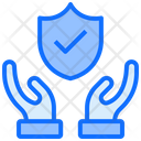 Protect Successfully Shield Icon