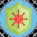 Protect Shield Virus Icon