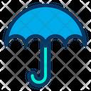 Umbrella Protection Safe Icon
