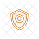 Protect And Copyright Shield Copyright Copyright Icon