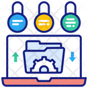 Protect Data Icon