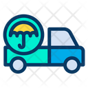 Protect Delivery Pickup Truck Icon
