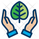 Save Nature Save Tree Protect Icon