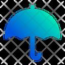 Protected Umbrella Protection Icon