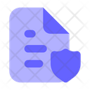 Protected File Secure File Protected Document Icon