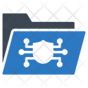 Protection Folder Secure Icon