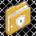 Data Protection Lock Folder Folder Security Icon