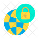 Protected Globe Icon