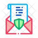 Protected Letter Icon
