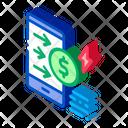 Money Transfer Phone Icon
