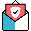 Protected Mailv Protected Mail Encrypted Letter Icon