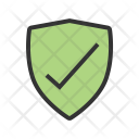 Protected shield Icon