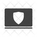 Protected System Laptop Icon
