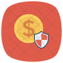 Protection Lock Money Icon