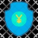 Secure Yen Yen Security Protected Yen Icon