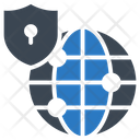 Protection Global Connection Icon