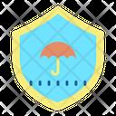 Protection Shield Umbrella Shield Icon