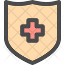 Shield Protection Health Icon