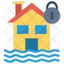 Protection Lock House Icon