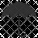 Protection Rain Umbrella Icon