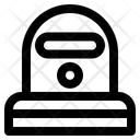 Protection Suit Epidemic Icon