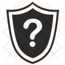 Protection Question Shield Icon