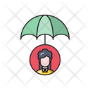 Umbrella Profile User Icon