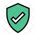 Protection Shield Check Icon
