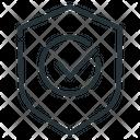 Check Mark Encryption Protection Icon