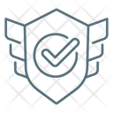 Protection Shield Site Protection Icon