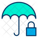 Umbrella Lock Protection Icon