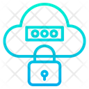 Protected Cloud Secure Cloud Security Icon