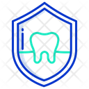 Dental Protection Dental Shield Protection Icon