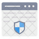 Protection Web Page Browser Icon